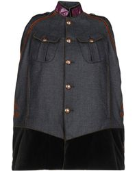 DSquared² Capes & Ponchos - Grey