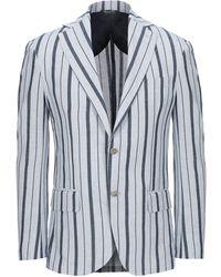 Takeshy Kurosawa Suit Jacket - Blue