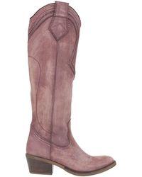 Kanna Knee Boots - Multicolour