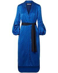 Hellessy Robe midi - Bleu