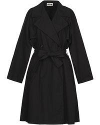 Hache Coat - Black
