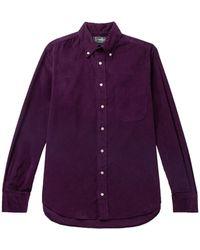 Gitman Vintage Shirt - Purple