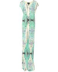 Class Roberto Cavalli Long Dress - Green