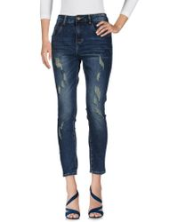 Manila Grace Pantaloni jeans - Blu