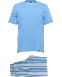 Hanro Pyjama - Blau