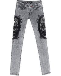 Philipp Plein Pantaloni jeans - Grigio