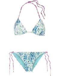 Matthew Williamson Bikini - Blau