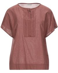 Cappellini By Peserico Blouse - Marron