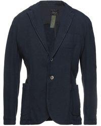 IANUX #THINKCOLORED Suit Jacket - Blue