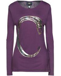 Class Roberto Cavalli T-shirt - Purple