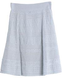 M Missoni Midi Skirt - Blue