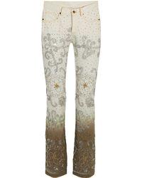 Ashish Pantalones vaqueros - Blanco