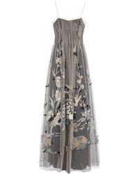 Alberta Ferretti - Long Dress - Lyst