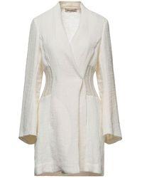 Gentry Portofino Overcoat - White