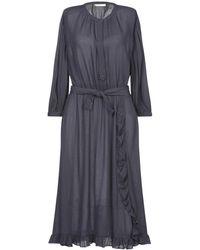 Sessun Knee-length Dress - Blue