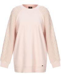 Elisabetta Franchi Sweatshirt - Pink