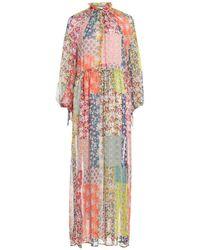 Julia June Long Dress - Orange