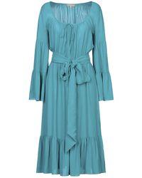 Michael Kors 3/4 Length Dress - Blue