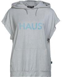 Haus By Golden Goose Deluxe Brand Sweatshirt - Grey