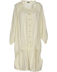 2W2M Short Dress - White