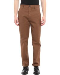 Department 5 Casual Trousers - Brown