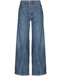 Ganni Denim Pants - Blue