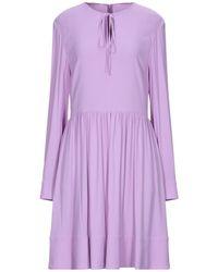 Stella McCartney Kurzes Kleid - Lila