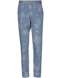 GTA IL PANTALONE Casual Pants - Blue