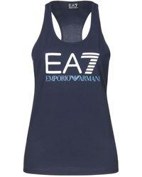 EA7 Tank Top - Blue