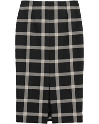 Brian Dales Midi Skirt - Black