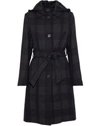 Maje Manteau long - Noir
