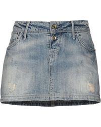 Meltin' Pot - Denim Skirt - Lyst