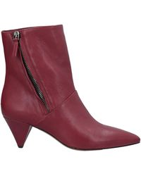The Seller Ankle Boots - Purple