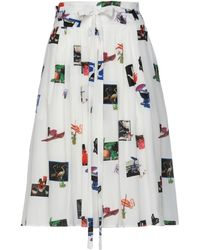 PS by Paul Smith Jupe midi - Blanc
