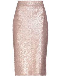 Alessandro Dell'acqua - 3/4 Length Skirt - Lyst
