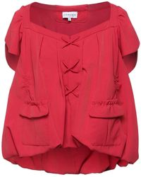 Carven Blouse - Red