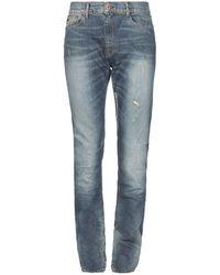 April77 Pantalones vaqueros - Azul