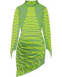 Maisie Wilen Short Dress - Green