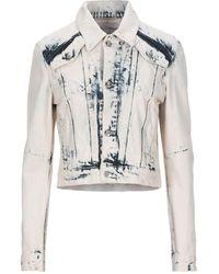 Proenza Schouler Denim Outerwear - White