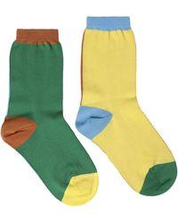 M Missoni Socks & Hosiery - Yellow
