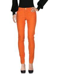 People Casual Pants - Orange
