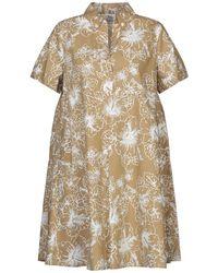 Attic And Barn Short Dress - Natural