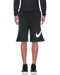 Nike Bermudashorts - Schwarz