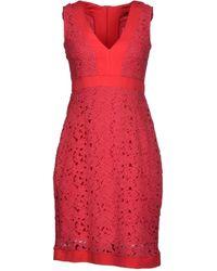 Fairly Kurzes Kleid - Rot