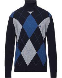 Ivy Oxford Cuello alto - Azul