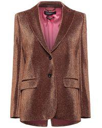 Department 5 Suit Jacket - Orange