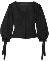 Proenza Schouler Camisa - Negro