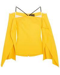 Roland Mouret T-shirt - Yellow