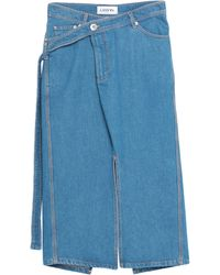 Lanvin Gonna jeans - Blu