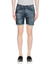 Gazzarrini - Denim Shorts - Lyst